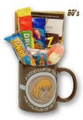 He-Man Mug with or without an Eternian  selection of 80's Sweets